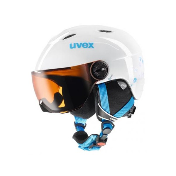 Uvex junior Visor white-turqouise - Sport-kodaj.sk  c16b63c8b57