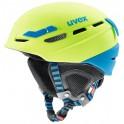 Uvex p.8000 tour lime-blue mat